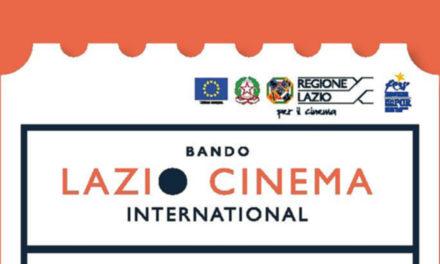Regione Lazio: prorogati i termini del bando Lazio Cinema International
