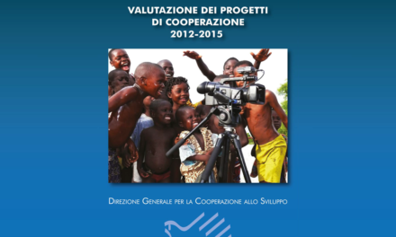 """Pubblicata """"La valutazione dei progetti di cooperazione 2012-2015"""""""