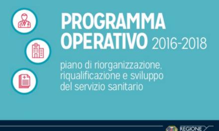 Regione Lazio: presentato il programma operativo 2016-2018 per la sanità