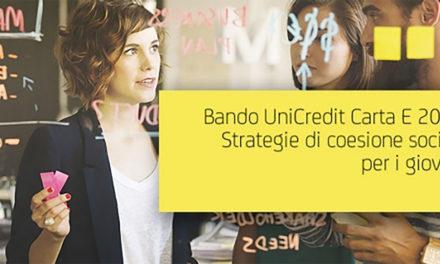 UniCredit: bando per la coesione sociale e l'occupazione giovanile