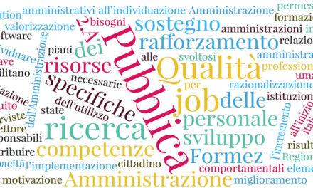 """Progetto """"Qualità 2.A"""" per le competenze del personale della pubblica amministrazione"""