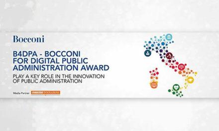 """B4DPA: """"Bocconi for Digital Public Administration Award"""""""