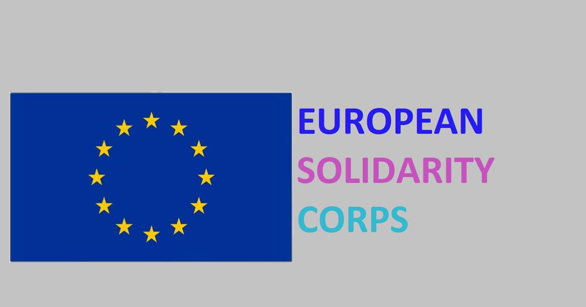 Corpo Europeo di Solidarietà: bando 2019