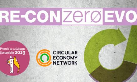 RE-CON ZERO EVO: Premio Sviluppo Sostenibile 2019 per l'Economia Circolare