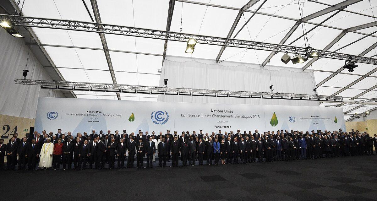 5 anni dall'Accordo sul clima di Parigi