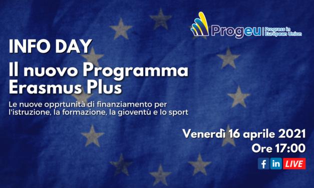 Info Day: il nuovo Programma Erasmus plus