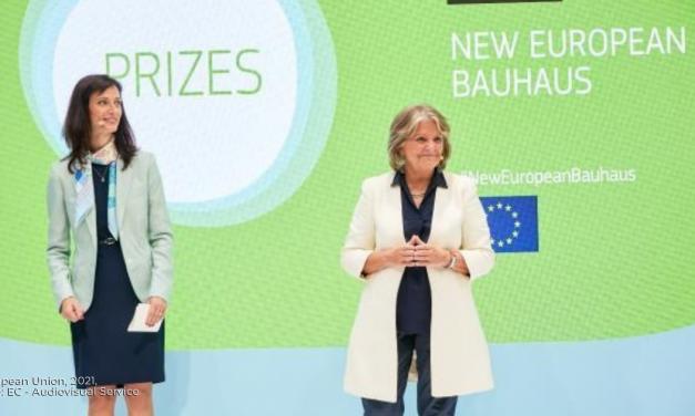 85 milioni di € a finanziamento dei progetti del nuovo Bauhaus europeo